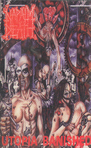Napalm Death: Utopia Banished -22730 Cassette Tape