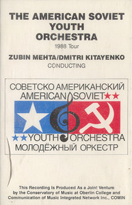 American Soviet Youth Orchestra: 1988 Tour -6768 Cassette Tape