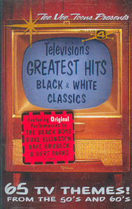 Television's Greatest Hits, #4 - Black & White Classics - TV Themes from the 50's & 60's Cassette Tape
