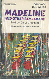 Madeline and Other Bemelmans - Told by Carol Channing -20823 Cassette Tape