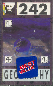 Front 242: Geography -14316 Cassette Tape