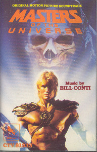 Masters of the Universe -Soundtrack Cassette Tape