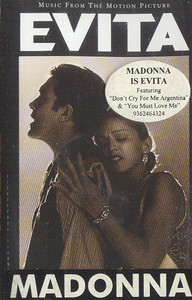 Madonna /: Evita - Music from the Motion Picture Cassette Tape