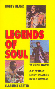 Legends of Soul Cassette Tape