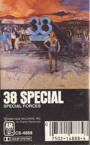 .38 Special: Special Forces -5666 Cassette Tape