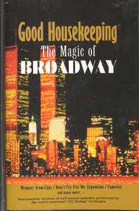 101 Strings: Good Housekeeping - The Magic of Broadway Cassette Tape