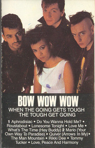 Bow Wow Wow: When the Going Gets Tough the Tough Get Going -9021 Cassette Tape