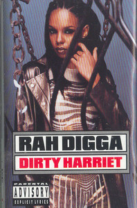 Rah Digga: Dirty Harriet Cassette Tape