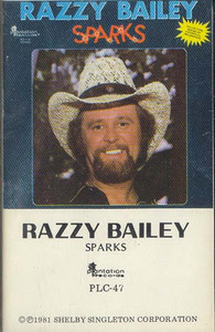 RAZZY BAILEY: Sparks -25239 Cassette Tape