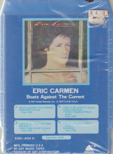 Eric Carmen: Boats Against the Current  8 Track Tape