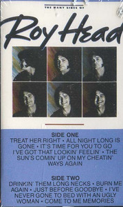 ROY HEAD: The Many Sides of Roy Head Cassette Tape