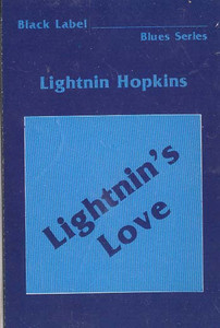 LIGHTNIN HOPKINS: Lightnin's Love Cassette Tape