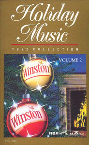Holiday Music, 1992 Collection (Winston Christmas Collector Album) Cassette Tape