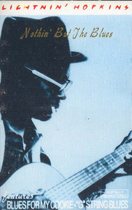 LIGHTNIN' HOPKINS: Nothin' But the Blues -19846 Cassette Tape