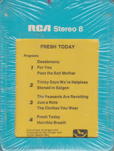 Fresh: Today  8 Track Tape
