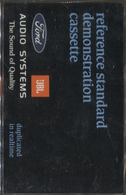 Ford Audio System Reference Standard Demonstration #(Ford Car Demo Tape)  Cassette Tape