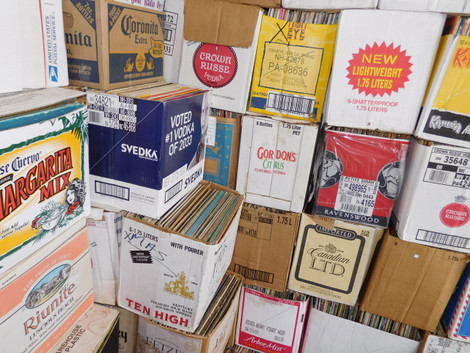 For Sale: Wholesale LP Vinyl Record Albums by the Box