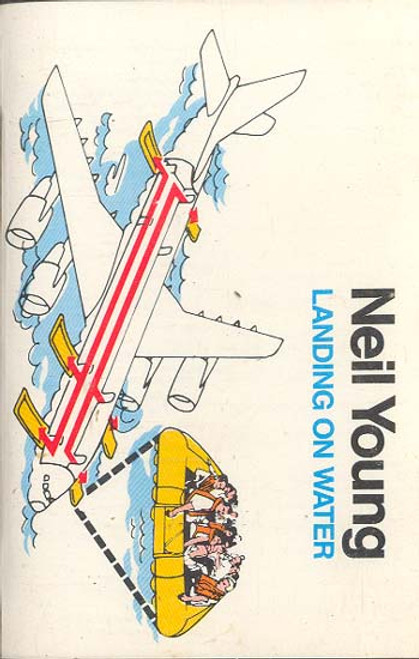 NEIL YOUNG: Landing on Water Cassette Tape