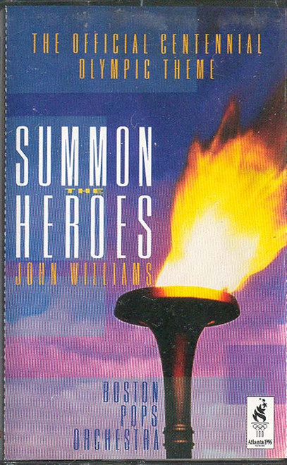 JOHN WILLIAMS & BOSTON POPS ORCHESTRA: Summon The Heroes Cassette Tape