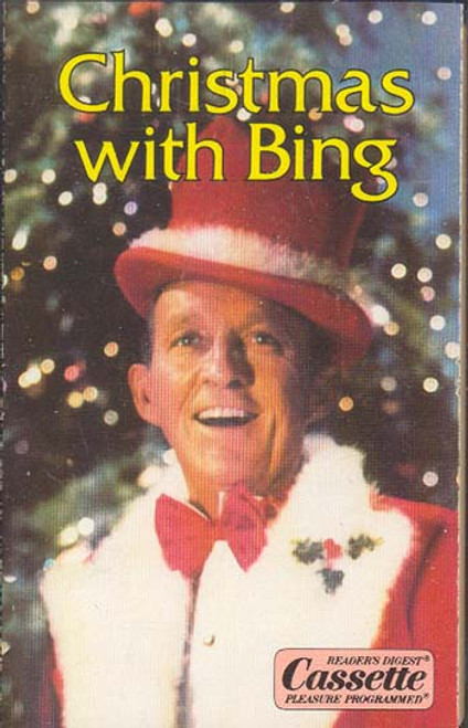 BING CROSBY: Christmas With Bing -8574 Cassette Tape