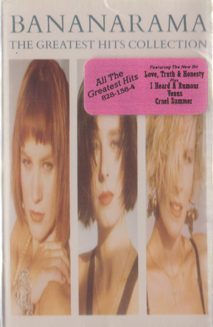 Bananarama: The Greatest Hits Collection Cassette Tape