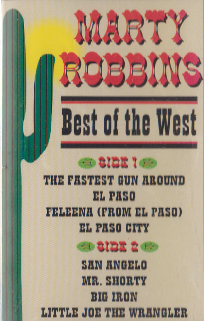 Marty Robbins: Best of the West -21339 Cassette Tape