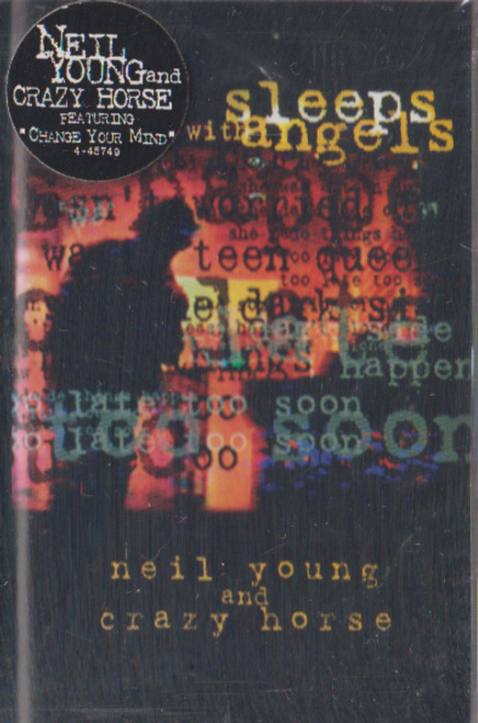 Neil Young: Sleeps with Angels Cassette Tape