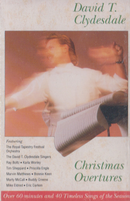David T. Clydesdale: Christmas Overtures Cassette Tape