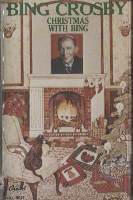 Bing Crosby: Christmas with Bing -8575 Cassette Tape