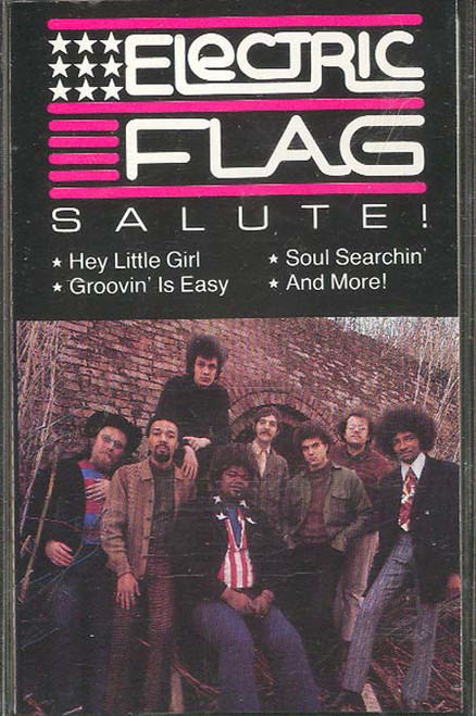 ELECTRIC FLAG: Salute! Cassette Tape