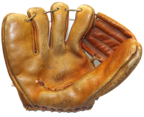Vintage Little League Model by Popular Leather Right Handed Baseball Glove Mitt