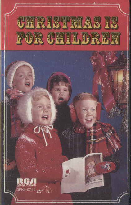 Various Artists: Christmas is for Children - Audio Cassette Tape