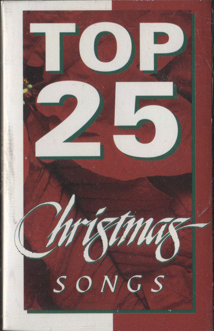 Various Artists: Top 25 Christmas Songs - Audio Cassette Tape