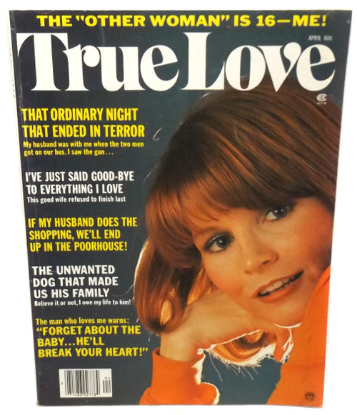 April 1976 - True Love - Vintage Magazine Back Issue