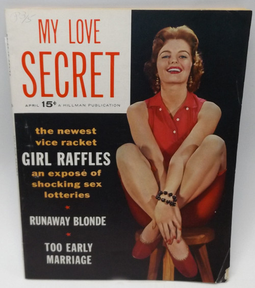 April 1956 - My Love Secret - Vintage Magazine Back Issue