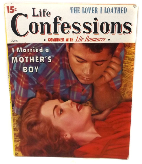 June 1956 - Life Confessions - Vintage Magazine Back Issue
