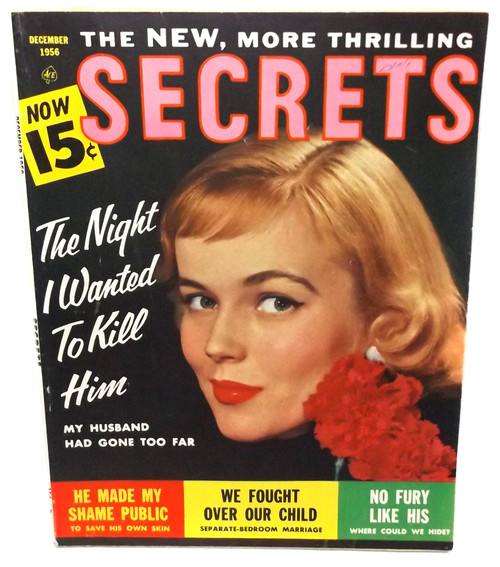 December 1956 - Secrets - Vintage Magazine Back Issue