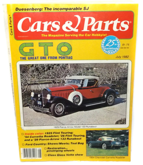 July 1982 - Cars & Parts - Vintage Magazine Back Issue