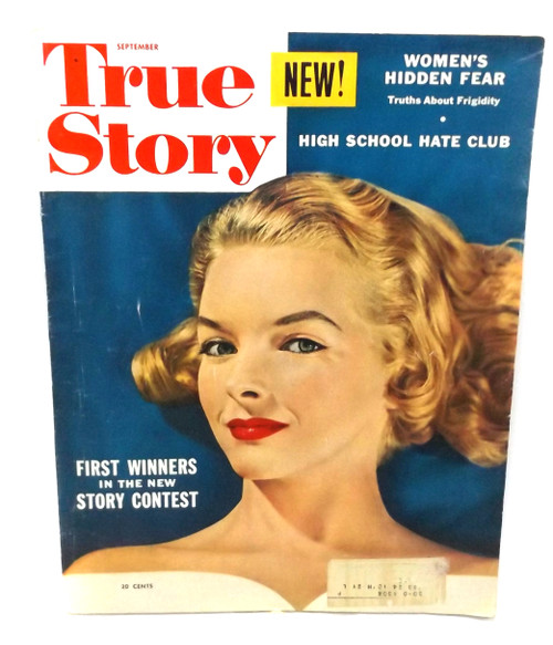 September 1953 - True Story Magazine - Vintage Back Issue