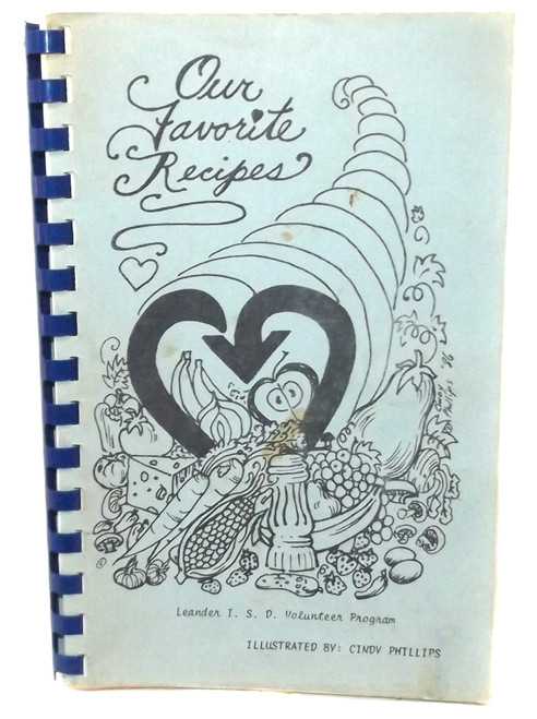 Vintage Our Favorite Recipes Cookbook Leander Independent School District Texas