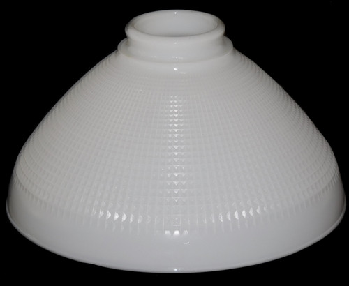"Vintage 10"" Milk Glass Lamp Shade Globe Torchiere Floor Lamp Replacement Shade"