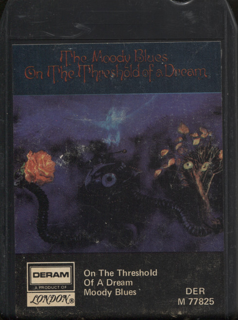 Moody Blues: On the Threshold of a Dream - 8 Track Tape