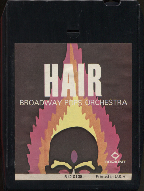 Broadway Pops Orchestra: Hair - 8 Track Tape