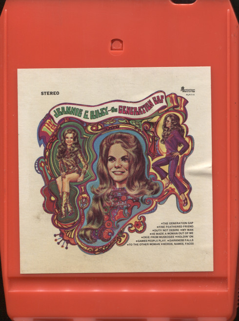 Jeannie C. Riley: The Generation Gap - 8 Track Tape