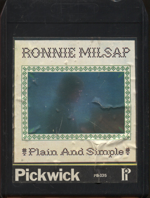 Ronnie Milsap: Plain and Simple - 8 Track Tape