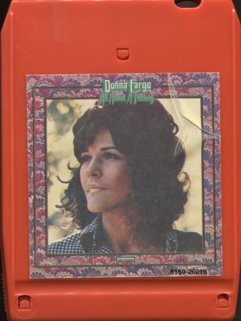 Donna Fargo: All About a Feeling - Vintage 8 Track Tape