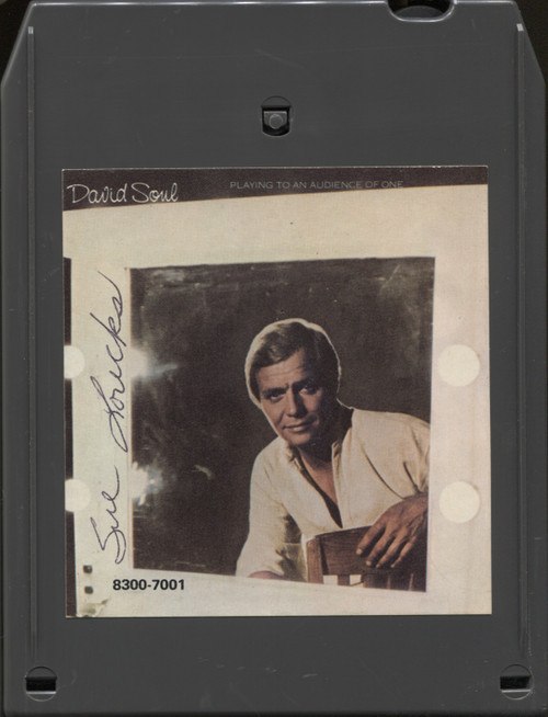 David Soul: Playing to an Audience of One - 8 Track Tape