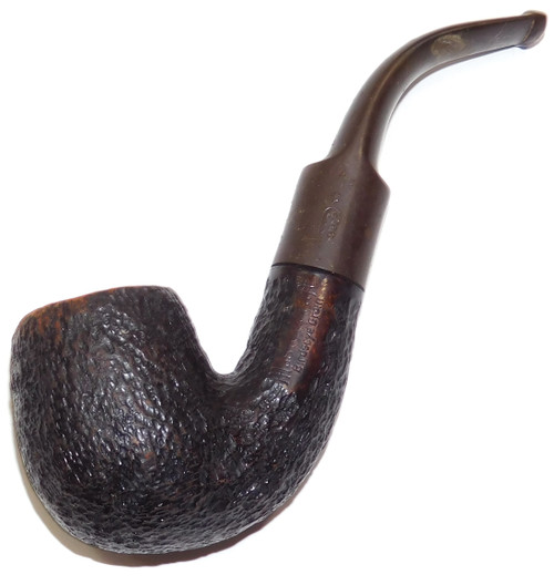 Vintage Mastercraft Birdseye Grain Estate Tobacco Smoking Pipe