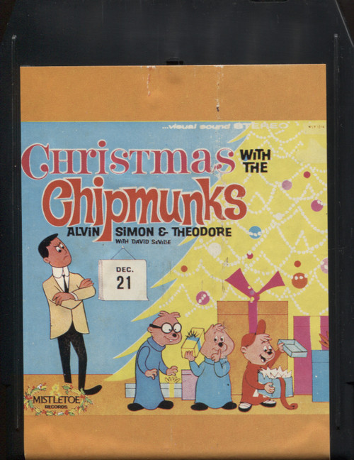 The Chipmunks: Christmas with the Chipmunks - 8 Track Tape