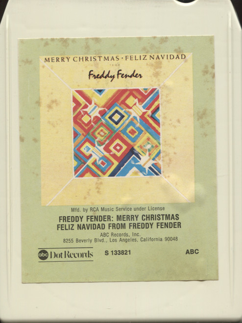 Freddy Fender: Merry Christmas, Feliz Navidad from Freddy Fender - 8 Track Tape